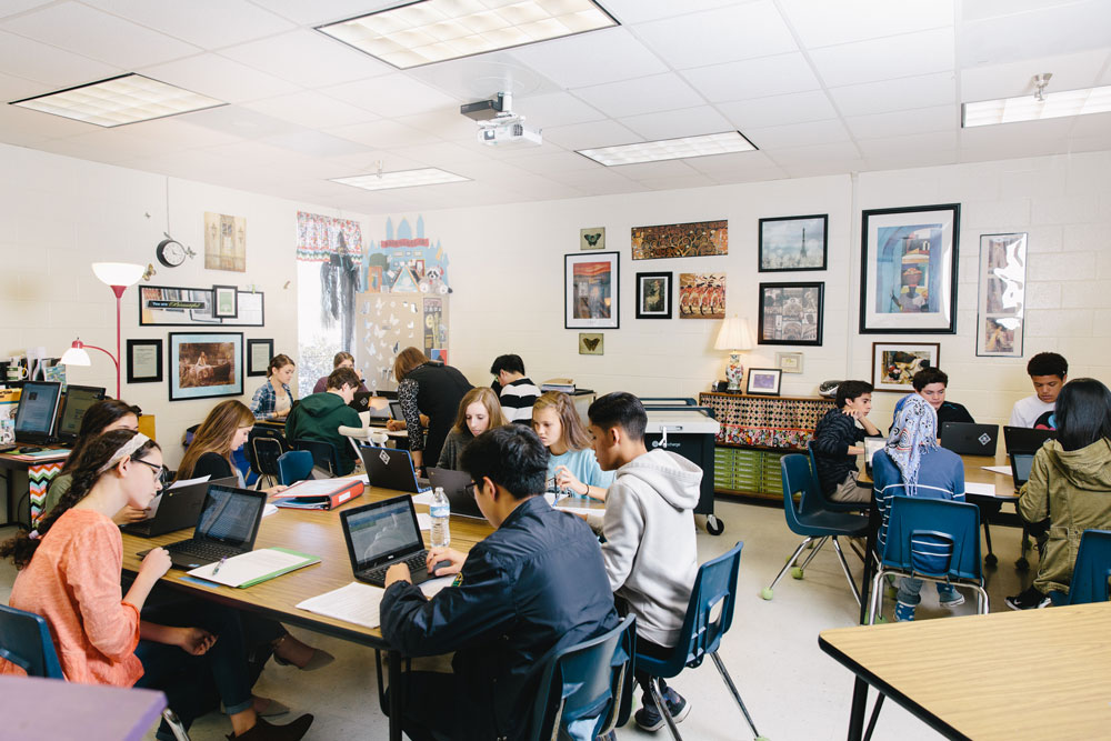 Classroom Design To Promote Literacy : Personalizing literacy through blended learning